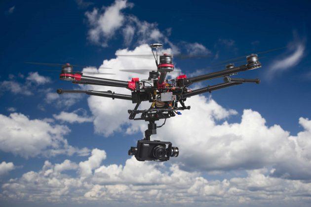 drone gökyüzü