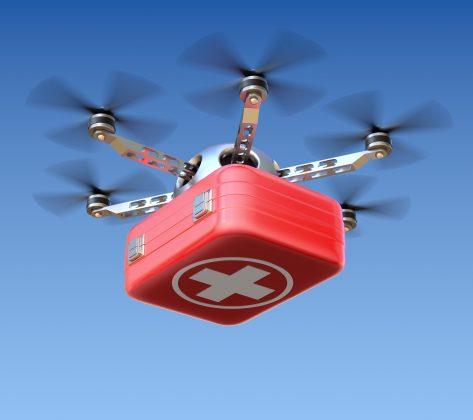 drone ilk yardım