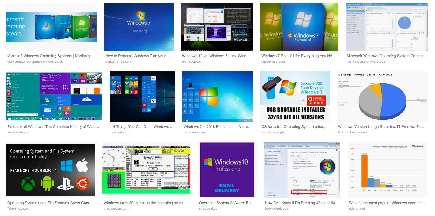 windows işletim sisteminin dünü ve bugünü