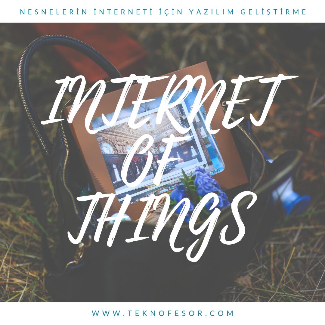 şeylerin internet yazılım geliştirme iot