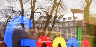 google şirket binası girişi