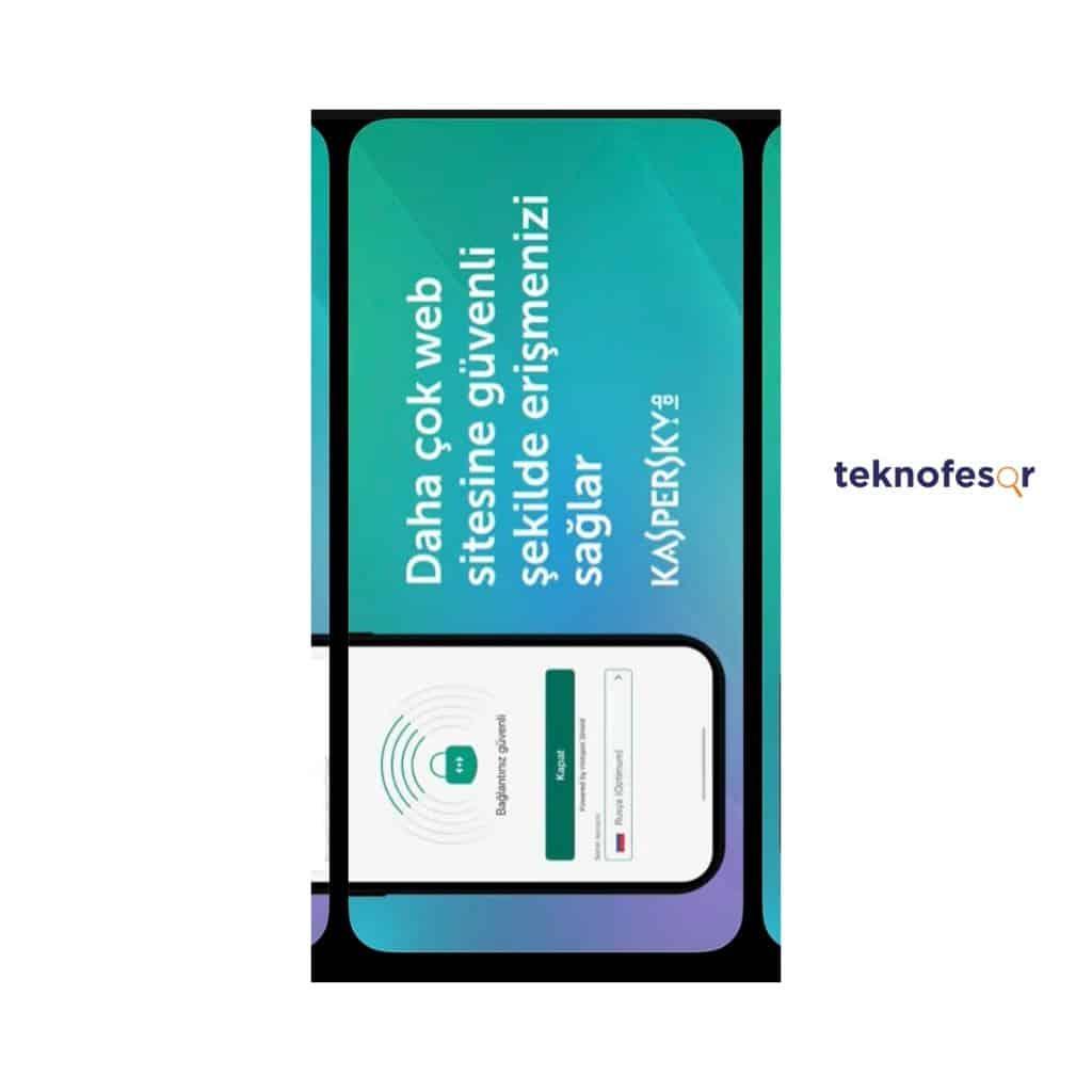 kaspersky mobil güvenlik