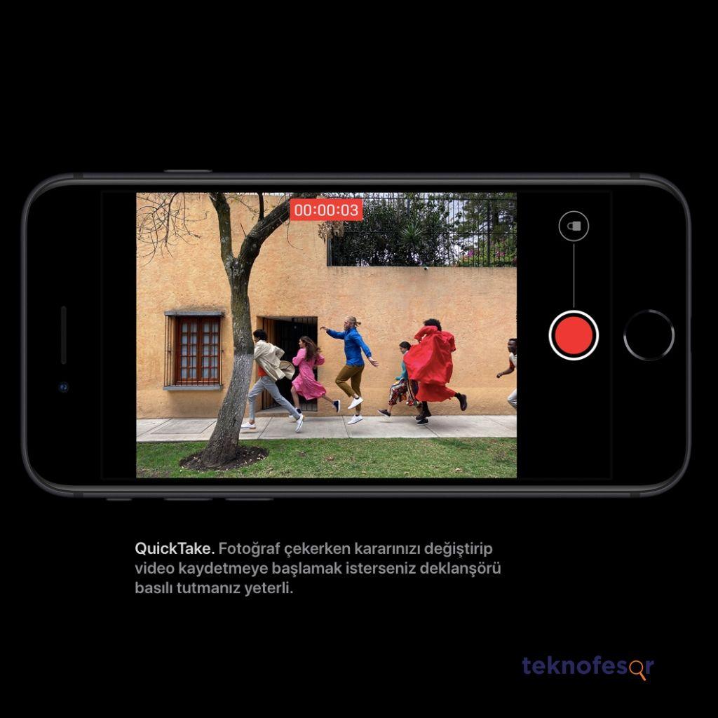 iphone se 2 video oynatma