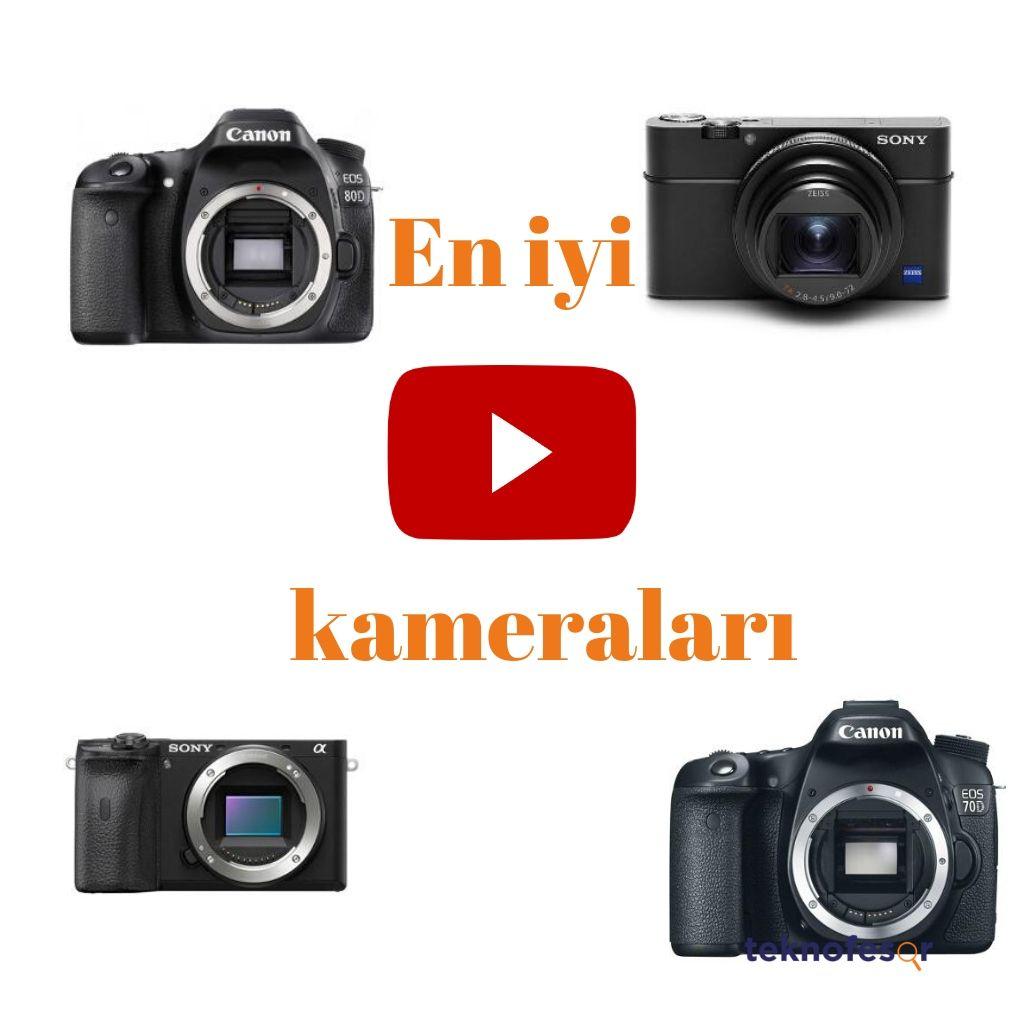 en iyi youtube kameraları