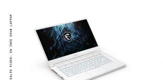 MSI Stealth Tiger en ince laptop
