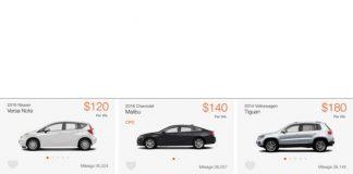 uber araç kiralama hizmetleri